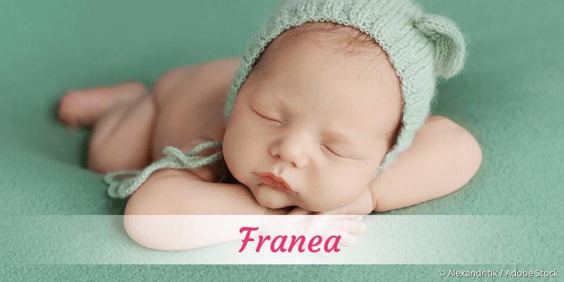 Name Franea als Bild