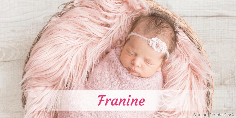 Name Franine als Bild