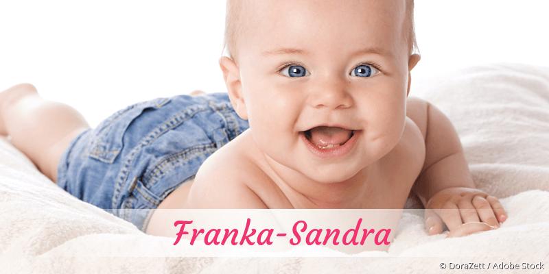 Name Franka-Sandra als Bild