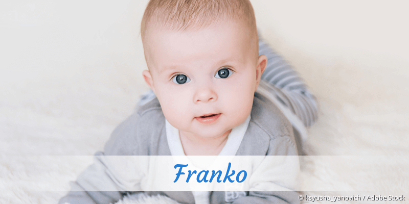 Name Franko als Bild
