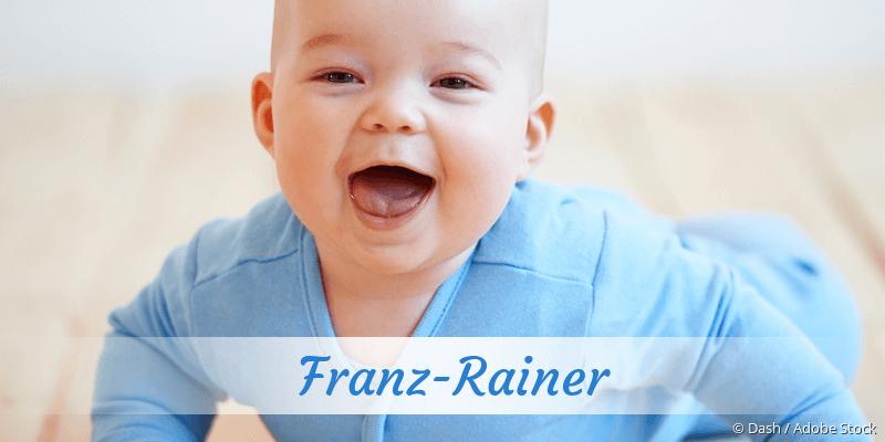 Name Franz-Rainer als Bild