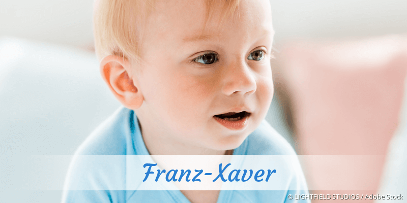 Name Franz-Xaver als Bild