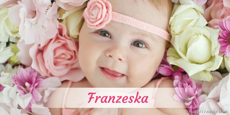 Name Franzeska als Bild