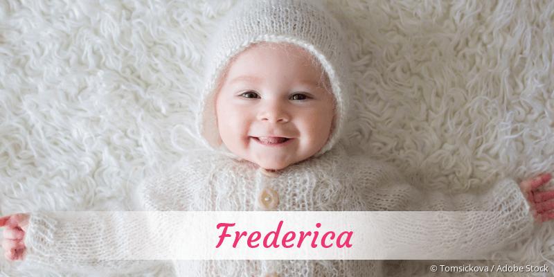 Name Frederica als Bild