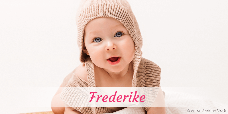 Name Frederike als Bild