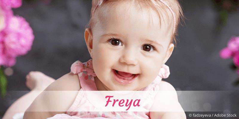 Name Freya als Bild