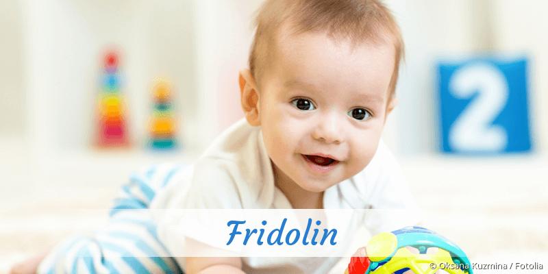 Name Fridolin als Bild