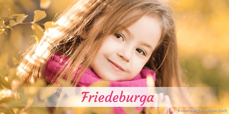 Name Friedeburga als Bild