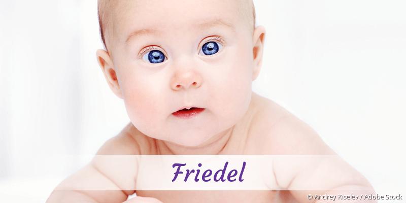 Name Friedel als Bild