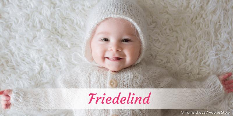 Name Friedelind als Bild