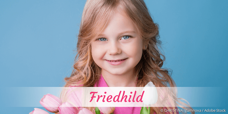 Name Friedhild als Bild
