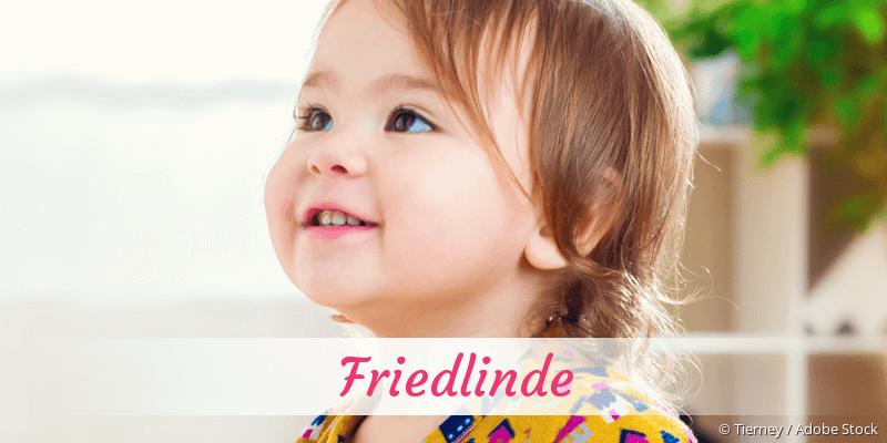 Name Friedlinde als Bild