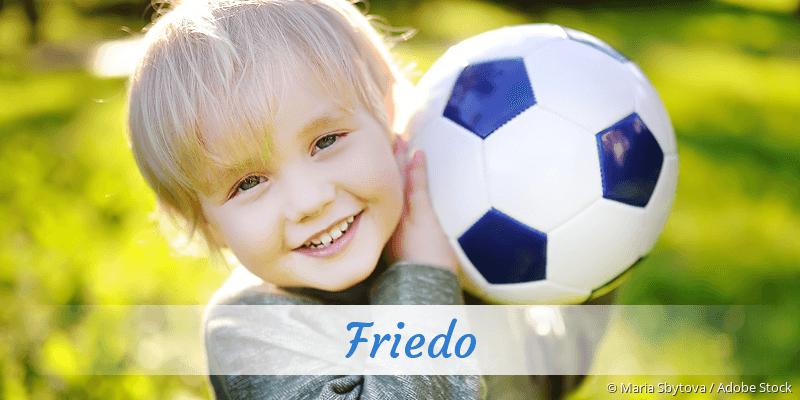 Name Friedo als Bild