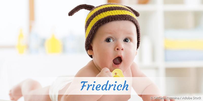 Name Friedrich als Bild
