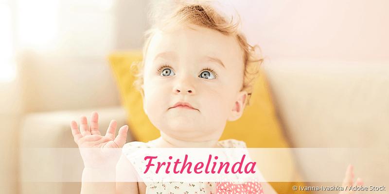 Name Frithelinda als Bild