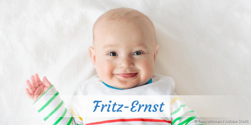 Name Fritz-Ernst als Bild