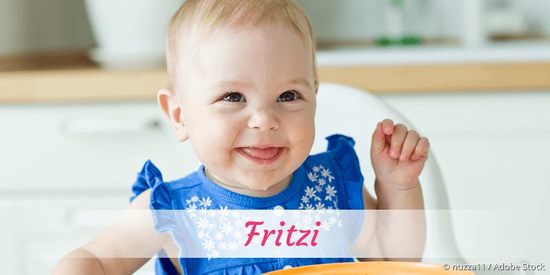 Name Fritzi als Bild