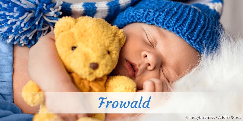 Name Frowald als Bild