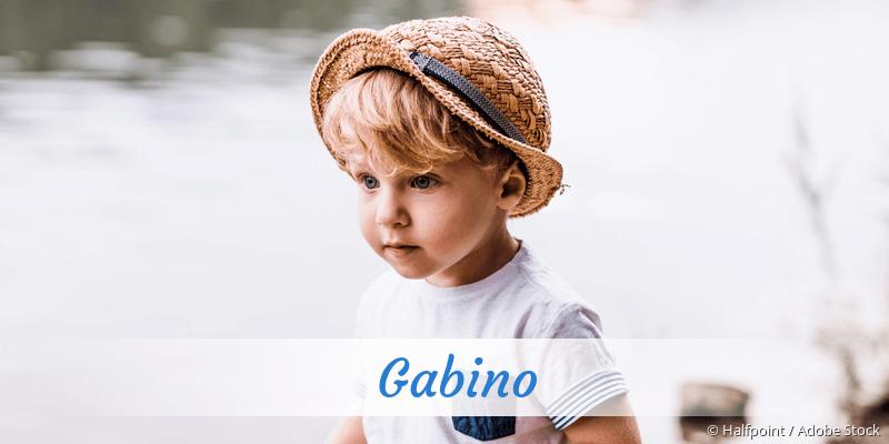 Name Gabino als Bild