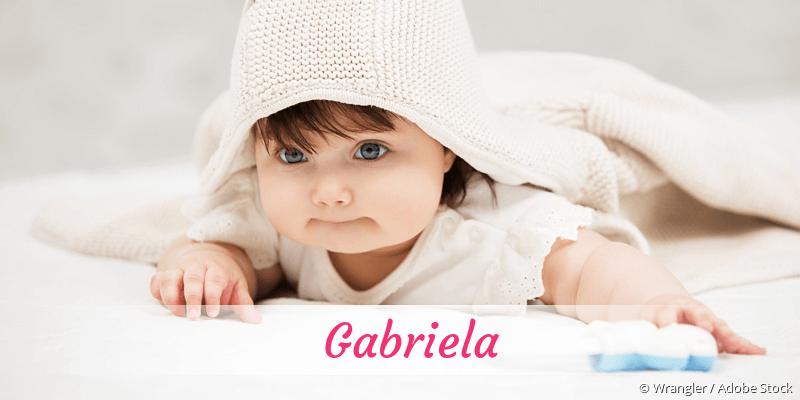 Name Gabriela als Bild