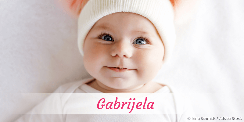 Name Gabrijela als Bild