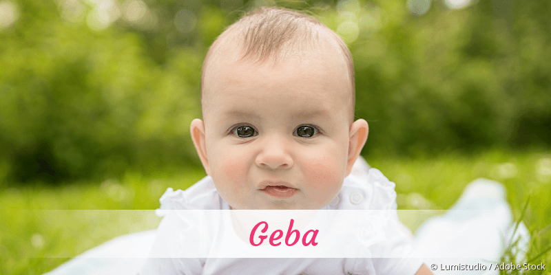 Name Geba als Bild