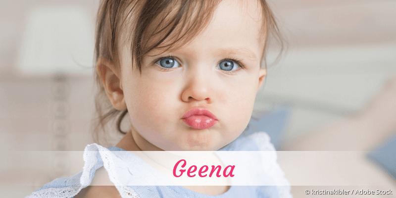 Name Geena als Bild