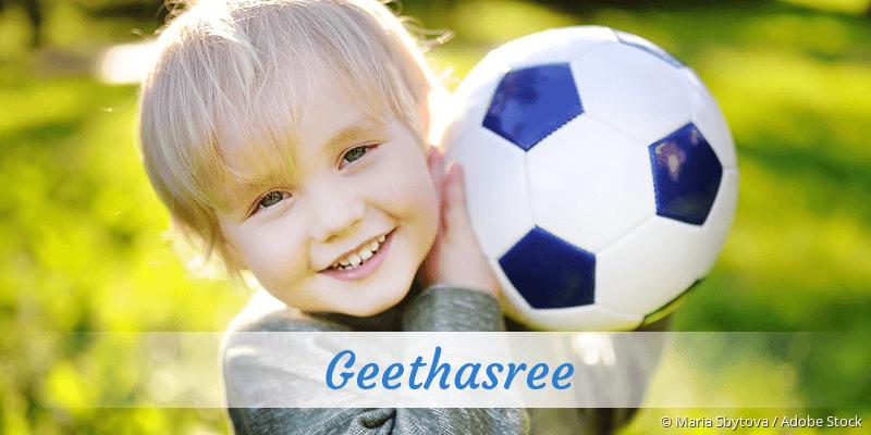 Name Geethasree als Bild