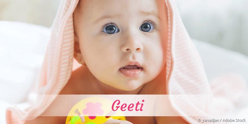 Name Geeti als Bild