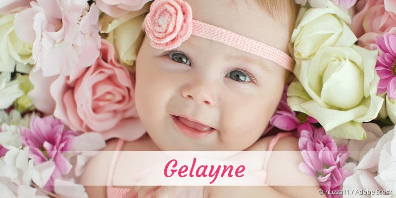 Name Gelayne als Bild