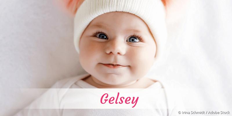 Name Gelsey als Bild