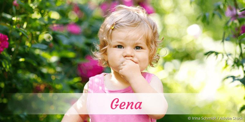 Name Gena als Bild