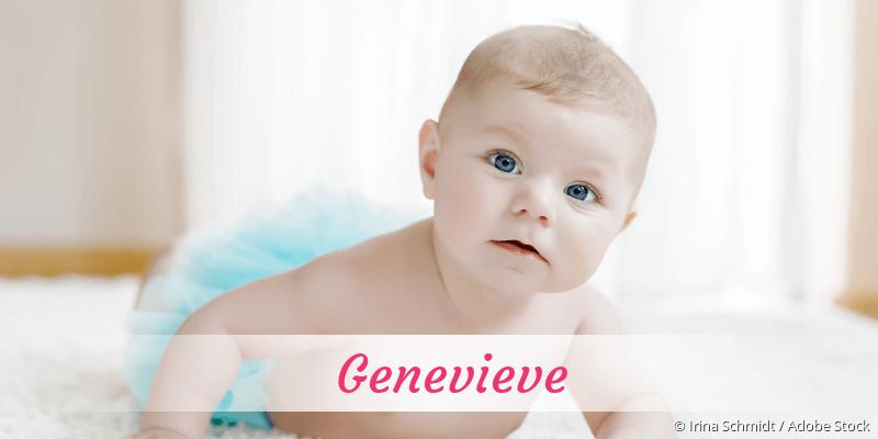 Name Genevieve als Bild
