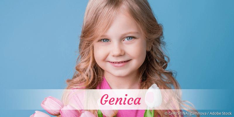 Name Genica als Bild