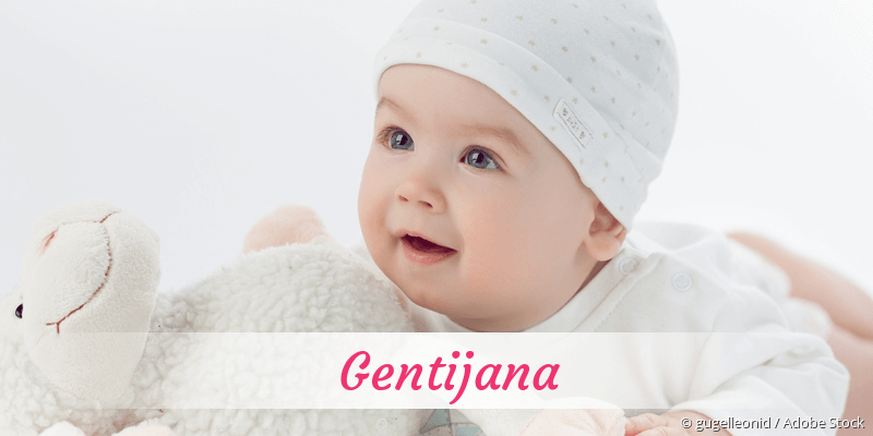 Name Gentijana als Bild
