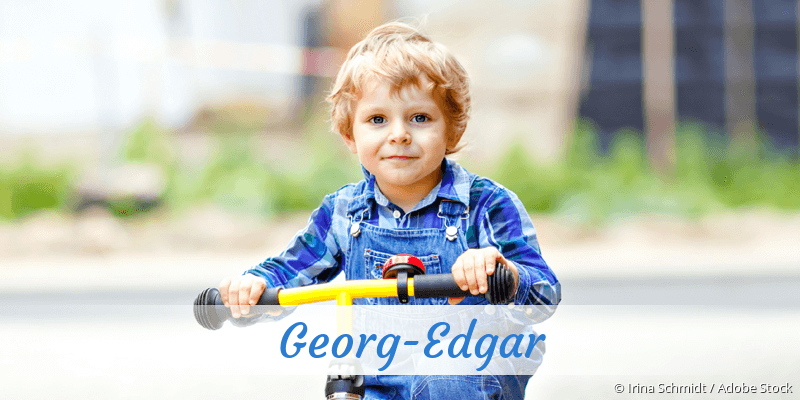 Name Georg-Edgar als Bild
