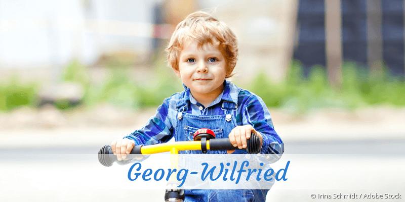 Name Georg-Wilfried als Bild