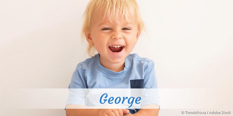 Name George als Bild
