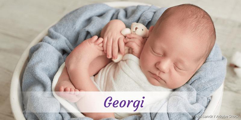 Name Georgi als Bild