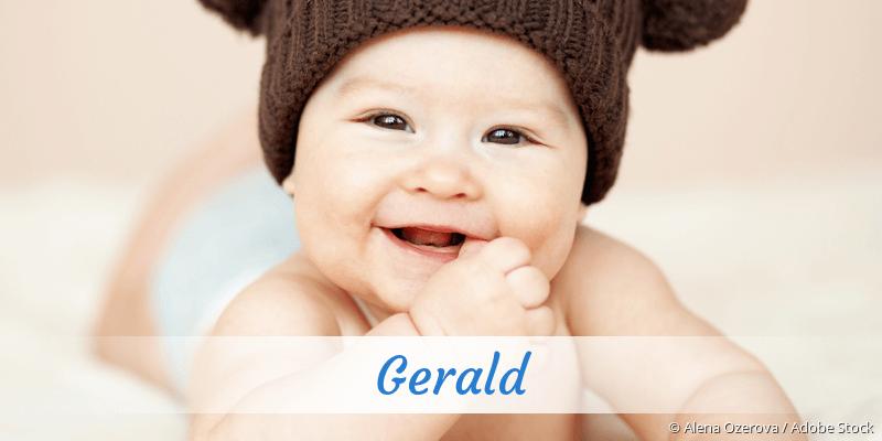 Name Gerald als Bild