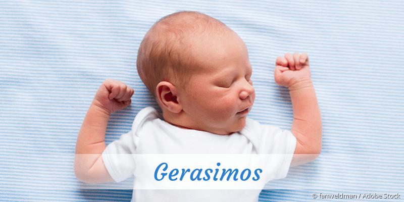 Name Gerasimos als Bild