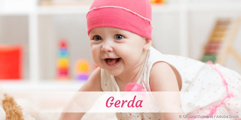 Name Gerda als Bild