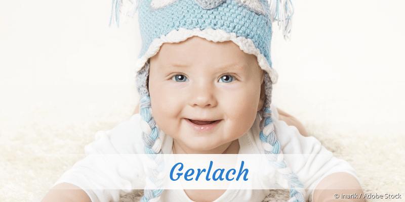 Name Gerlach als Bild