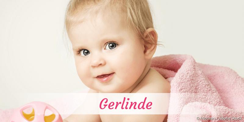 Name Gerlinde als Bild