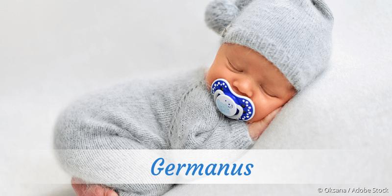 Name Germanus als Bild