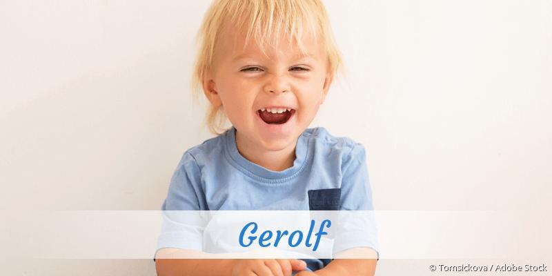 Name Gerolf als Bild