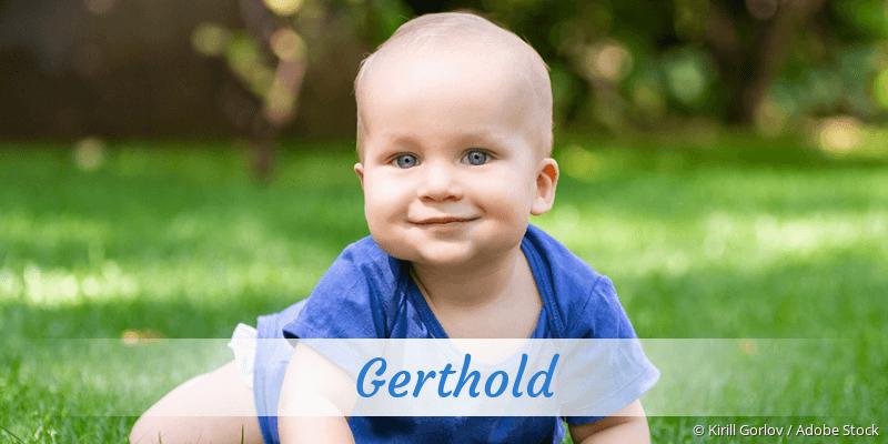 Name Gerthold als Bild