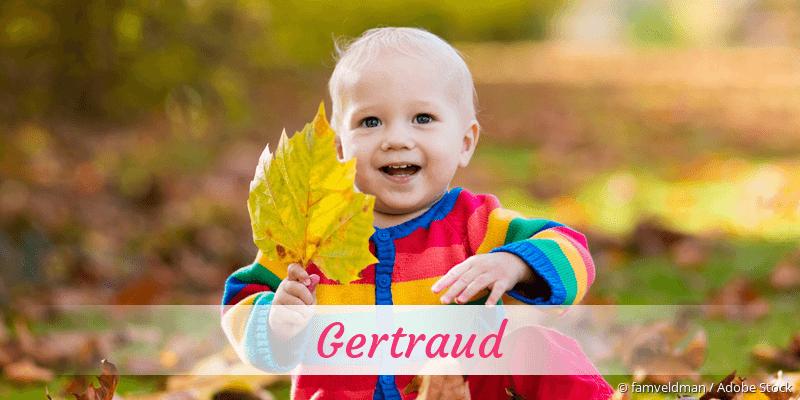 Name Gertraud als Bild