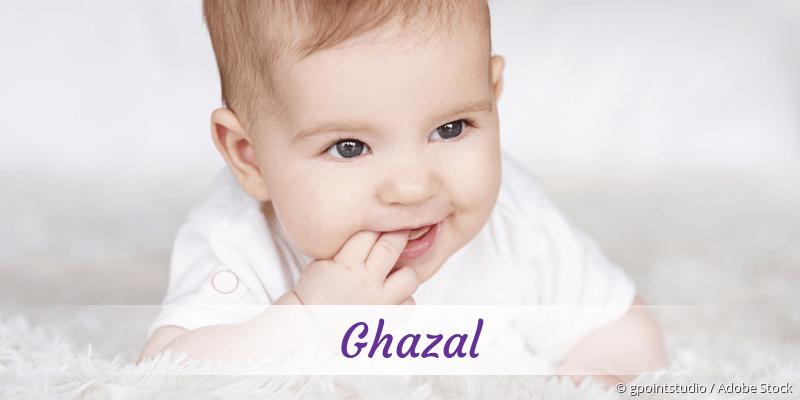 Name Ghazal als Bild