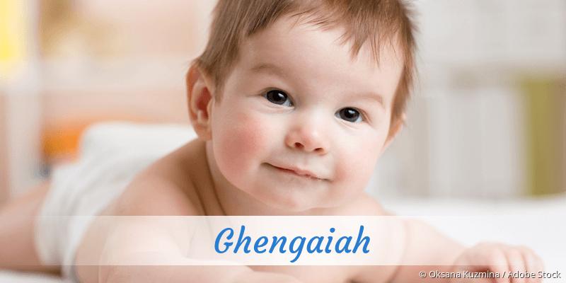 Name Ghengaiah als Bild